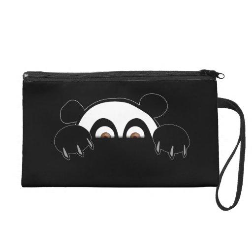 Bracelet de panda pochette avec dragonne