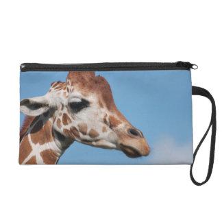 Bracelet de profil de girafe pochette avec dragonne