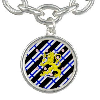 Bracelet Drapeau finlandais de rayures