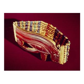 Bracelet flexible de perle carte postale