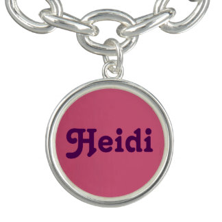 Bracelet Heidi de charme