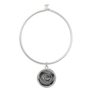 Bracelet monochromatique de bracelet de rose avec