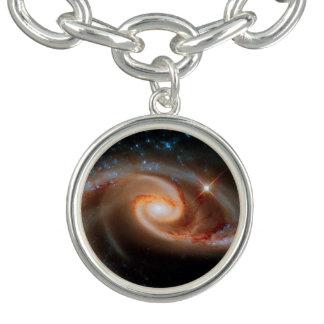 Bracelet Photo rose d'espace extra-atmosphérique de Hubble