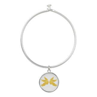 Bracelet Rigide Ailes d'or de Falln Arkhangel