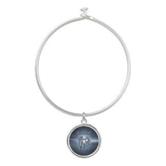 Bracelet Rigide Gémeaux de chrome