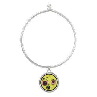 Bracelet Rigide Visage de zombi