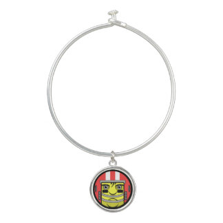 Bracelet Rigide Visage du football