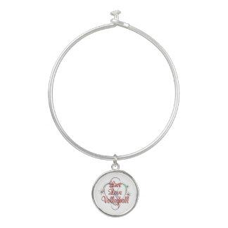 Bracelet Rigide Volleyball vivant d'amour