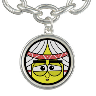 Bracelet Visage indigène