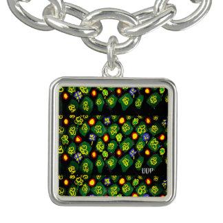 Bracelets Avec Breloques Art vert