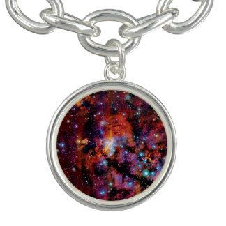 Bracelets Avec Breloques Nébuleuse de crevette rose d'IC 4628 - photo