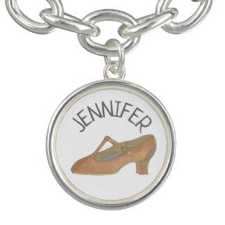 Bracelets Chorégraphe bronzage de professeur de danse de