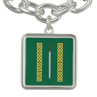 Bracelets Épée celtique et Knotwork