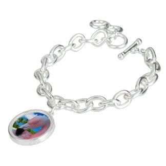 Bracelets Flamant et plage