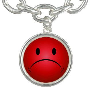 Bracelets Frownie rouge