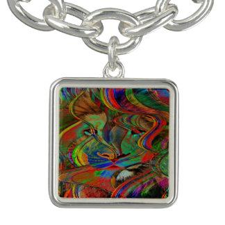 Bracelets Lion abstrait