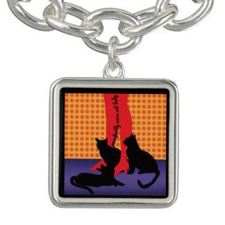 Bracelets Madame raisonnable de chat de Purrfectly