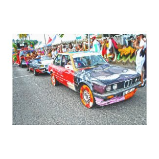 Bradjak de carnaval en Martinique Toiles