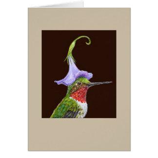Bradley la carte de colibri