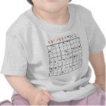 brailledoku t-shirts