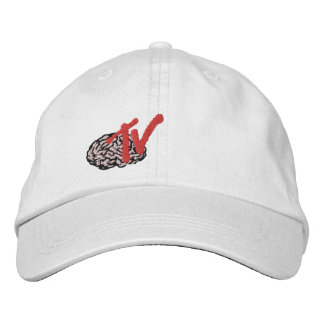 BrainTV a brodé le casquette Casquette Brodée