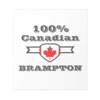 Brampton 100% bloc-note