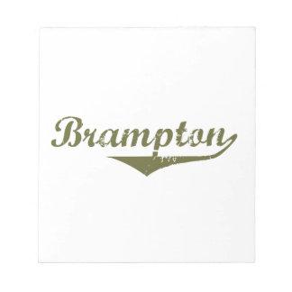 Brampton Bloc-note