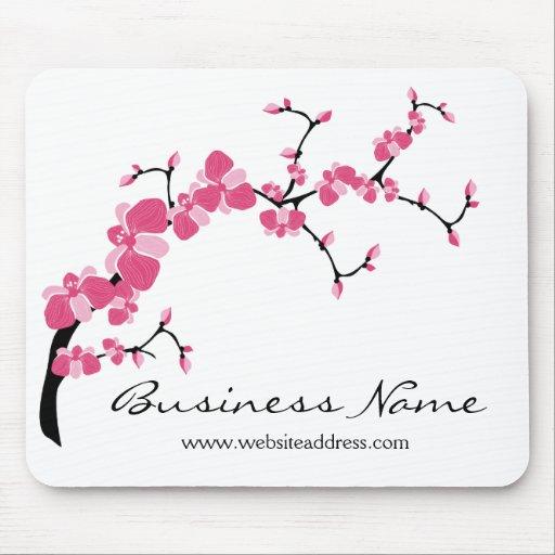 branche d 39 arbre de fleurs de cerisier mousepad per tapis de souris zazzle. Black Bedroom Furniture Sets. Home Design Ideas