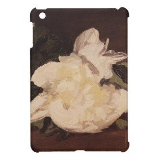 Branche de Manet   des pivoines et des sécateurs Coques iPad Mini