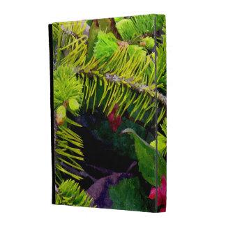 Branche de Noël Coques iPad Folio