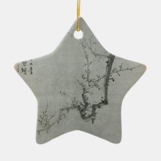 Branche de prune - YI Yuwon Ornement Étoile En Céramique