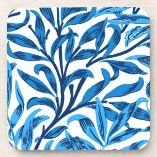 Branche de saule de William Morris, bleu de cobalt Dessous-de-verre