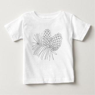 Branche deux de pin t-shirt pour bébé