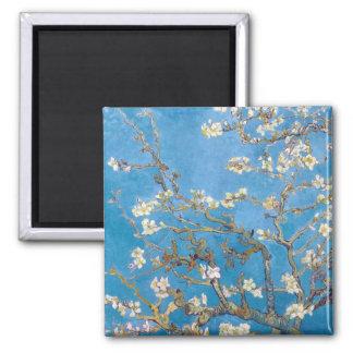 Branches avec la fleur Van Gogh d'amande Aimant