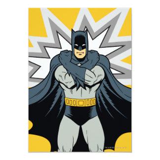Bras croisés de Batman Carton D'invitation 12,7 Cm X 17,78 Cm