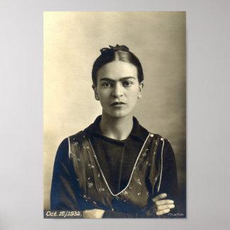 Bras de Frida Kahlo croisés Posters