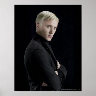 Bras de Malfoy de Draco croisés Posters