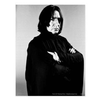 Bras de Severus Snape croisés Carte Postale