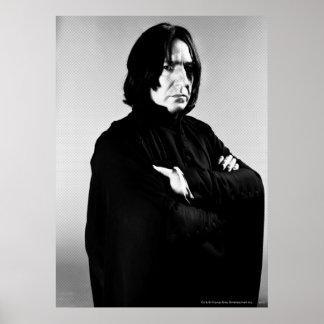 Bras de Severus Snape croisés Poster