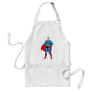 Bras de Superman pliés Tablier