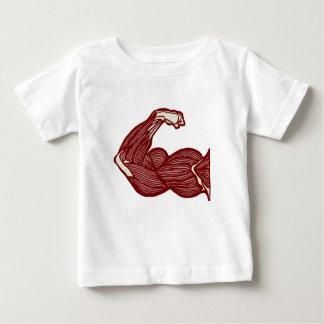 Bras fort t-shirt pour bébé