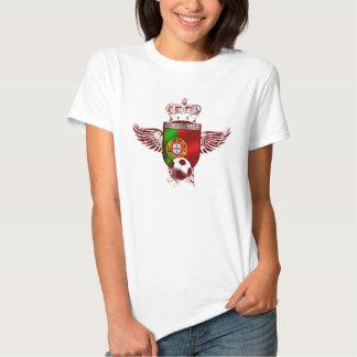 Brasão de Futebol Fás Portugueses T-shirts