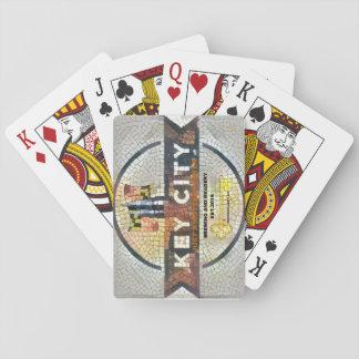 Brassage principal de ville cartes à jouer