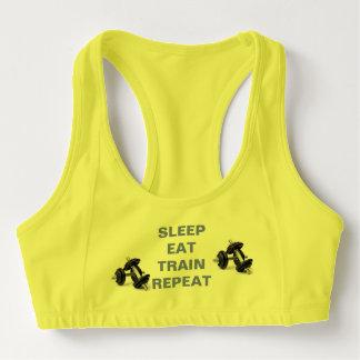Brassière Le sommeil mangent le soutien-gorge de sports de