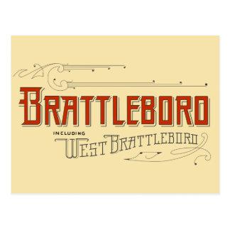Brattleboro, y compris la carte postale