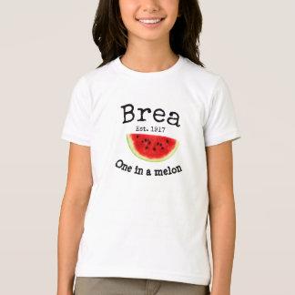 """Brea la Californie """"une chemise dans melon"""" pour T-shirt"""