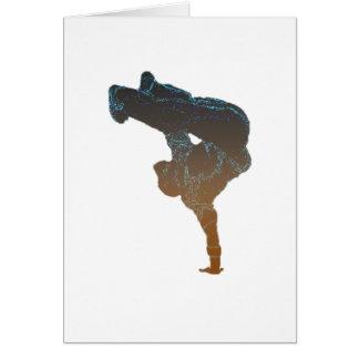 Breakdancer Carte De Vœux