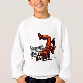 Breakdancer et hip hop de boîte sweatshirt