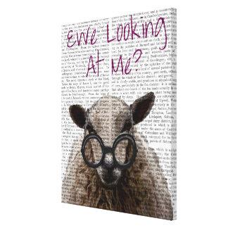 Brebis me regardant moutons de DeNiro Toiles