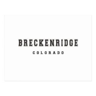 Breckenridge le Colorado Carte Postale